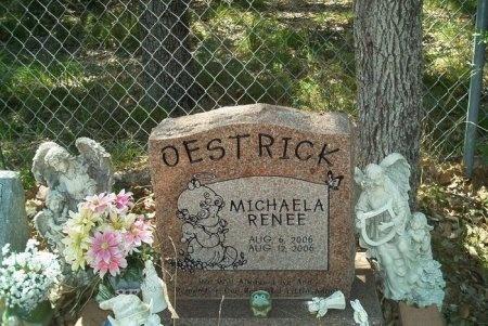 OESTRICK, MICHAELA RENEE - Travis County, Texas | MICHAELA RENEE OESTRICK - Texas Gravestone Photos