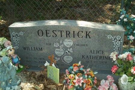 OESTRICK, WILLIAM - Travis County, Texas | WILLIAM OESTRICK - Texas Gravestone Photos