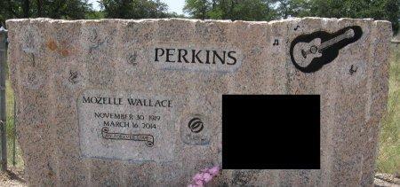 WALLACE PERKINS, MOZELLE - Travis County, Texas   MOZELLE WALLACE PERKINS - Texas Gravestone Photos