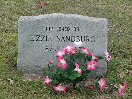 PREECE SANDBURG, SARAH ELIZABETH - Travis County, Texas | SARAH ELIZABETH PREECE SANDBURG - Texas Gravestone Photos