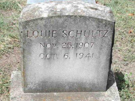 SCHULTZ, LOUIE - Travis County, Texas   LOUIE SCHULTZ - Texas Gravestone Photos
