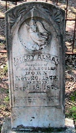 SOULES, MARY ALMA - Travis County, Texas | MARY ALMA SOULES - Texas Gravestone Photos