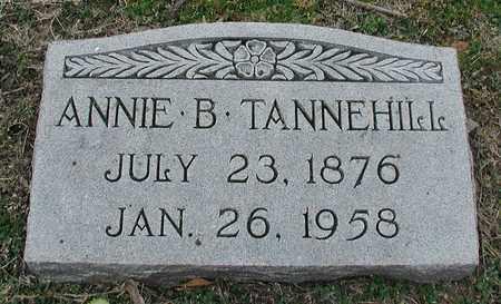 SELLARS TANNEHILL, ANNIE BESS - Travis County, Texas | ANNIE BESS SELLARS TANNEHILL - Texas Gravestone Photos