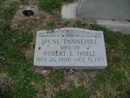 TANNEHILL THIELE, IRENE - Travis County, Texas | IRENE TANNEHILL THIELE - Texas Gravestone Photos