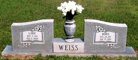 FREDRICKSON WEISS, DORIS ANNA MARIA - Travis County, Texas | DORIS ANNA MARIA FREDRICKSON WEISS - Texas Gravestone Photos