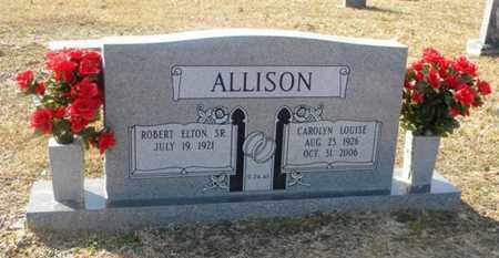 ALLISON, CAROLYN LOUISE - Tyler County, Texas | CAROLYN LOUISE ALLISON - Texas Gravestone Photos