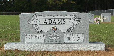 ADAMS, ELLA V - Upshur County, Texas | ELLA V ADAMS - Texas Gravestone Photos