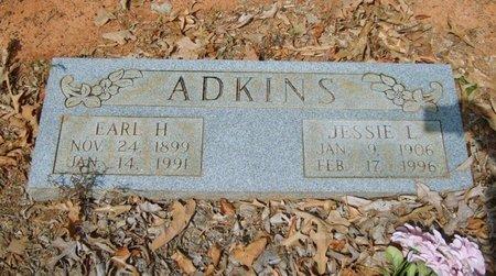 SMITH ADKINS, JESSIE L. - Upshur County, Texas | JESSIE L. SMITH ADKINS - Texas Gravestone Photos