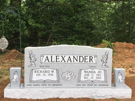 FERGUSON ALEXANDER, WANDA JO - Upshur County, Texas | WANDA JO FERGUSON ALEXANDER - Texas Gravestone Photos