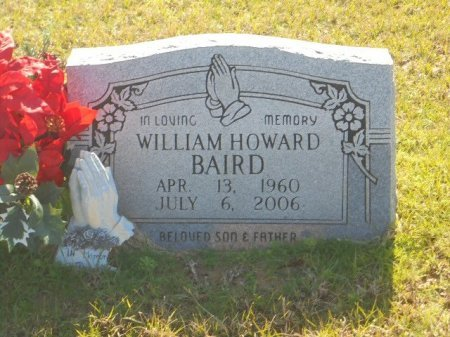 BAIRD, WILLIAM HOWARD - Upshur County, Texas | WILLIAM HOWARD BAIRD - Texas Gravestone Photos