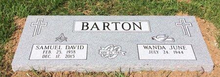BARTON, SAMUEL DAVID - Upshur County, Texas | SAMUEL DAVID BARTON - Texas Gravestone Photos