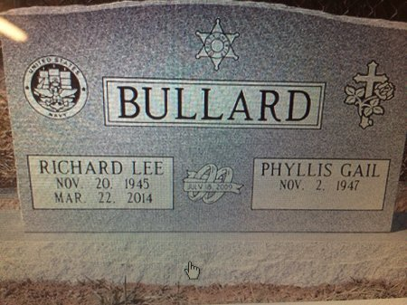 BULLARD (VETERAN), RICHARD LEE - Upshur County, Texas | RICHARD LEE BULLARD (VETERAN) - Texas Gravestone Photos