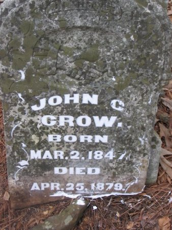 CROW, JOHN C - Upshur County, Texas | JOHN C CROW - Texas Gravestone Photos