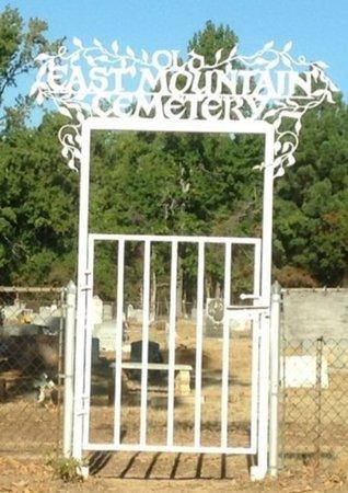 *GATE & SIGN,  - Upshur County, Texas |  *GATE & SIGN - Texas Gravestone Photos