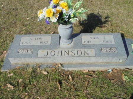 JOHNSON, A LON - Upshur County, Texas | A LON JOHNSON - Texas Gravestone Photos