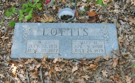 LOFTIS, MARY M. - Upshur County, Texas | MARY M. LOFTIS - Texas Gravestone Photos