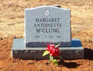 MCCLUNG, MARGARET ANTOINETTE - Upshur County, Texas | MARGARET ANTOINETTE MCCLUNG - Texas Gravestone Photos
