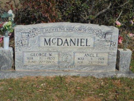 ELMORE MCDANIEL, ANEL E - Upshur County, Texas | ANEL E ELMORE MCDANIEL - Texas Gravestone Photos