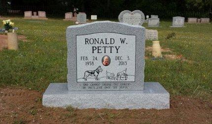 PETTY, RONALD W. - Upshur County, Texas | RONALD W. PETTY - Texas Gravestone Photos