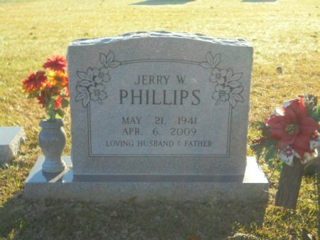 PHILLIPS, JERRY W - Upshur County, Texas | JERRY W PHILLIPS - Texas Gravestone Photos