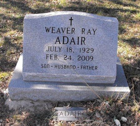 ADAIR, WEAVER RAY - Uvalde County, Texas | WEAVER RAY ADAIR - Texas Gravestone Photos