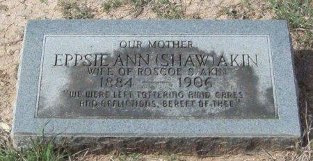 AKIN, EPPSIE ANN - Uvalde County, Texas | EPPSIE ANN AKIN - Texas Gravestone Photos