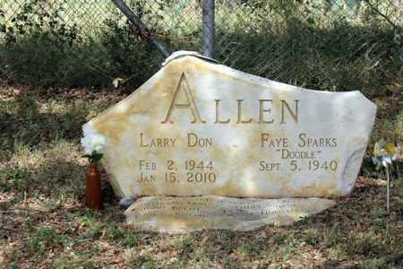ALLEN, LARRY DON - Uvalde County, Texas | LARRY DON ALLEN - Texas Gravestone Photos