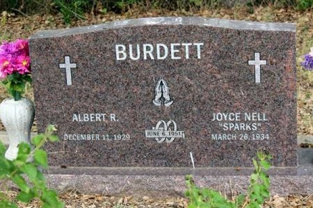 BURNETT, JOYCE NELL - Uvalde County, Texas | JOYCE NELL BURNETT - Texas Gravestone Photos