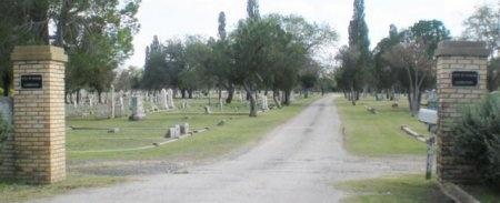 *CEMETERY ENTRANCE,  - Uvalde County, Texas    *CEMETERY ENTRANCE - Texas Gravestone Photos