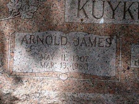KUYKENDALL, ARNOLD JAMES (CLOSE UP) - Uvalde County, Texas | ARNOLD JAMES (CLOSE UP) KUYKENDALL - Texas Gravestone Photos