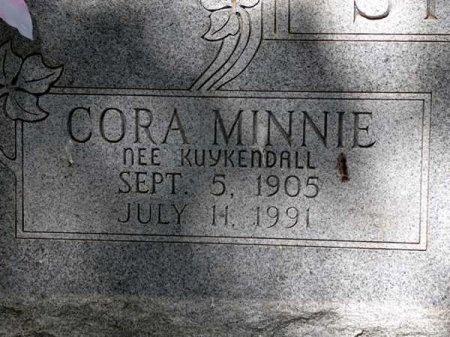 SPARKS, CORA MINNIE (CLOSE UP) - Uvalde County, Texas | CORA MINNIE (CLOSE UP) SPARKS - Texas Gravestone Photos
