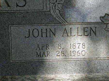 SPARKS, JOHN ALLEN (CLOSE UP) - Uvalde County, Texas   JOHN ALLEN (CLOSE UP) SPARKS - Texas Gravestone Photos