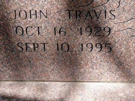 SPARKS, JOHN TRAVIS (CLOSE UP) - Uvalde County, Texas | JOHN TRAVIS (CLOSE UP) SPARKS - Texas Gravestone Photos