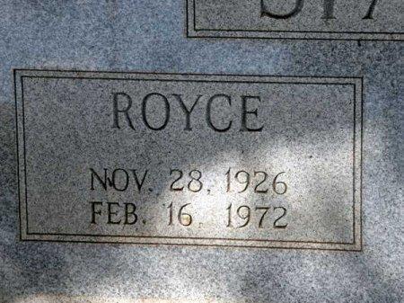 SPARKS, ROYCE (CLOSE UP) - Uvalde County, Texas | ROYCE (CLOSE UP) SPARKS - Texas Gravestone Photos