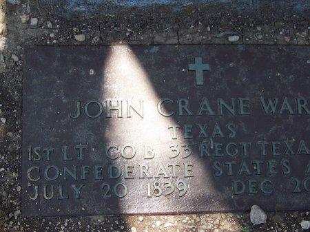 WARE (VETERAN (CSA), JOHN WARE - Uvalde County, Texas   JOHN WARE WARE (VETERAN (CSA) - Texas Gravestone Photos