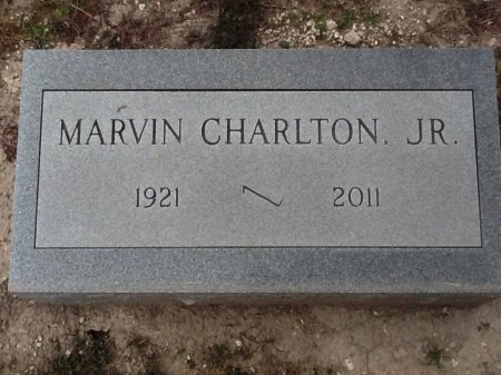 CHARLTON, JR., MARVIN - Val Verde County, Texas | MARVIN CHARLTON, JR. - Texas Gravestone Photos