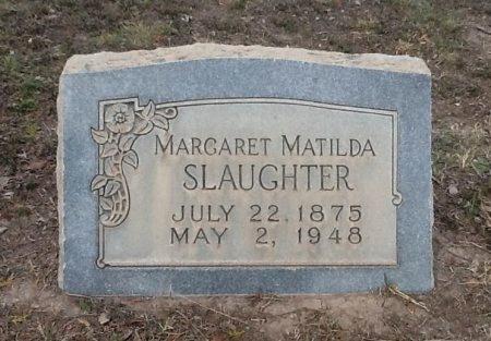 SLAUGHTER, MARGARET MATILDA - Val Verde County, Texas | MARGARET MATILDA SLAUGHTER - Texas Gravestone Photos