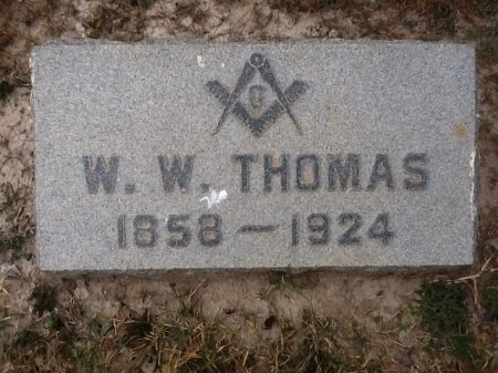 THOMAS, WILLIS WASHINGTON - Val Verde County, Texas | WILLIS WASHINGTON THOMAS - Texas Gravestone Photos