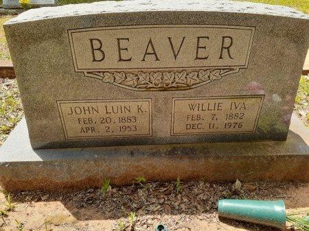 BEAVER, JOHN LUIN K - Van Zandt County, Texas | JOHN LUIN K BEAVER - Texas Gravestone Photos