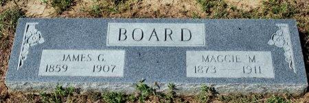 BOARD, MAGGIE M. - Van Zandt County, Texas | MAGGIE M. BOARD - Texas Gravestone Photos