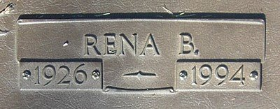 RICHARDSON HALE, RENA BELL (CLOSE UP) - Van Zandt County, Texas | RENA BELL (CLOSE UP) RICHARDSON HALE - Texas Gravestone Photos