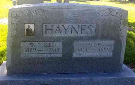 HAYNES, ALLIE - Van Zandt County, Texas | ALLIE HAYNES - Texas Gravestone Photos