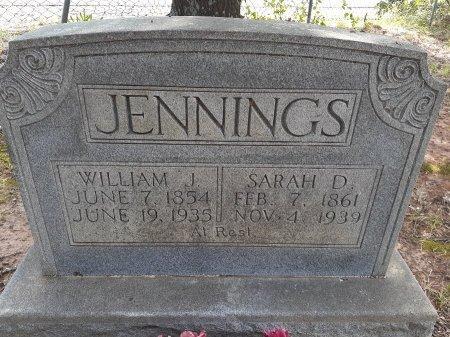 JENNINGS, SARAH D. - Van Zandt County, Texas | SARAH D. JENNINGS - Texas Gravestone Photos