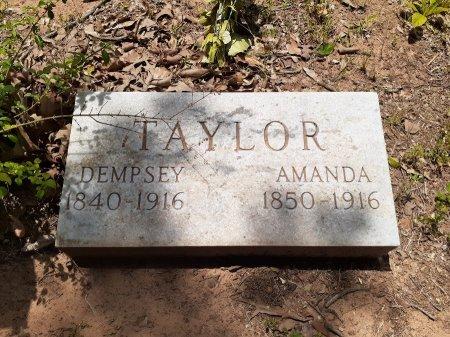 TAYLOR, AMANDA - Van Zandt County, Texas | AMANDA TAYLOR - Texas Gravestone Photos