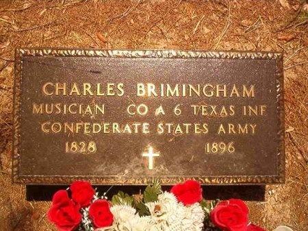 BRIMINGHAM (VETERAN CSA), CHARLES - Victoria County, Texas   CHARLES BRIMINGHAM (VETERAN CSA) - Texas Gravestone Photos