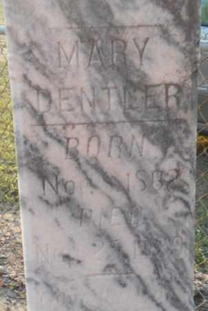 DENTLER, MARY - Victoria County, Texas | MARY DENTLER - Texas Gravestone Photos
