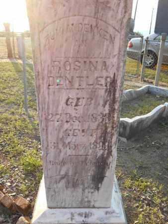 DENTLER, ROSINA - Victoria County, Texas   ROSINA DENTLER - Texas Gravestone Photos