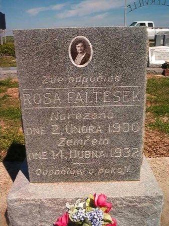 FALTESEK, ROSA - Victoria County, Texas   ROSA FALTESEK - Texas Gravestone Photos