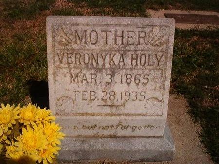HOLY, VERONYKA - Victoria County, Texas   VERONYKA HOLY - Texas Gravestone Photos