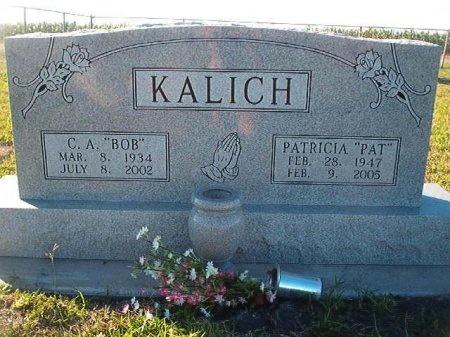 "KALICH, PATRICIA ""PAT"" - Victoria County, Texas | PATRICIA ""PAT"" KALICH - Texas Gravestone Photos"